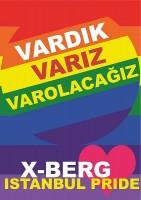 VARDIK VARIZ VAROLACAĞIZ - Solidarität mit dem Istanbuler Pride, der am 28. Juni von der Polizei mit Tränengas, Wasserwerfern und Gummigeschossen verhindert wurde.