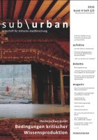Cover sub\urban