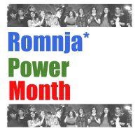 Romnja* Power Month Logo