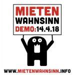 Mietenwahnsinn Demo Grafik von kottiundco.net
