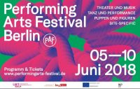 Performing Arts Festival Berlin - Poster
