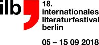 ilb Internationales Literaturfestival Berlin 2018