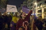 Feminist strike in Madrid, March 8 2018 Foto: (c) Álvaro Minguito