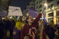 Feminist strike in Madrid, March 8 2018 Foto: (c) Álvaro Minguito