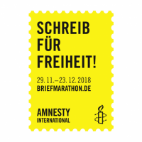 Logo Briefmarathon Amnesty International