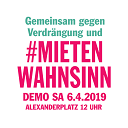 #mietenwahnsinn demo 2019
