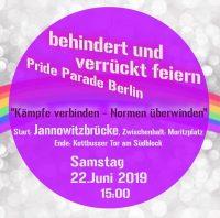 Plakat Pride Parade