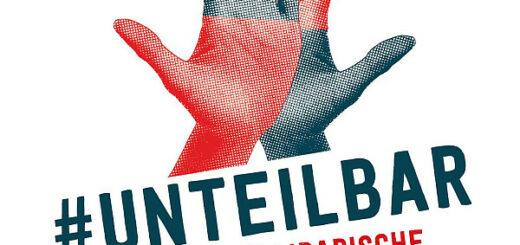 Poster zur #unteilbar Demo